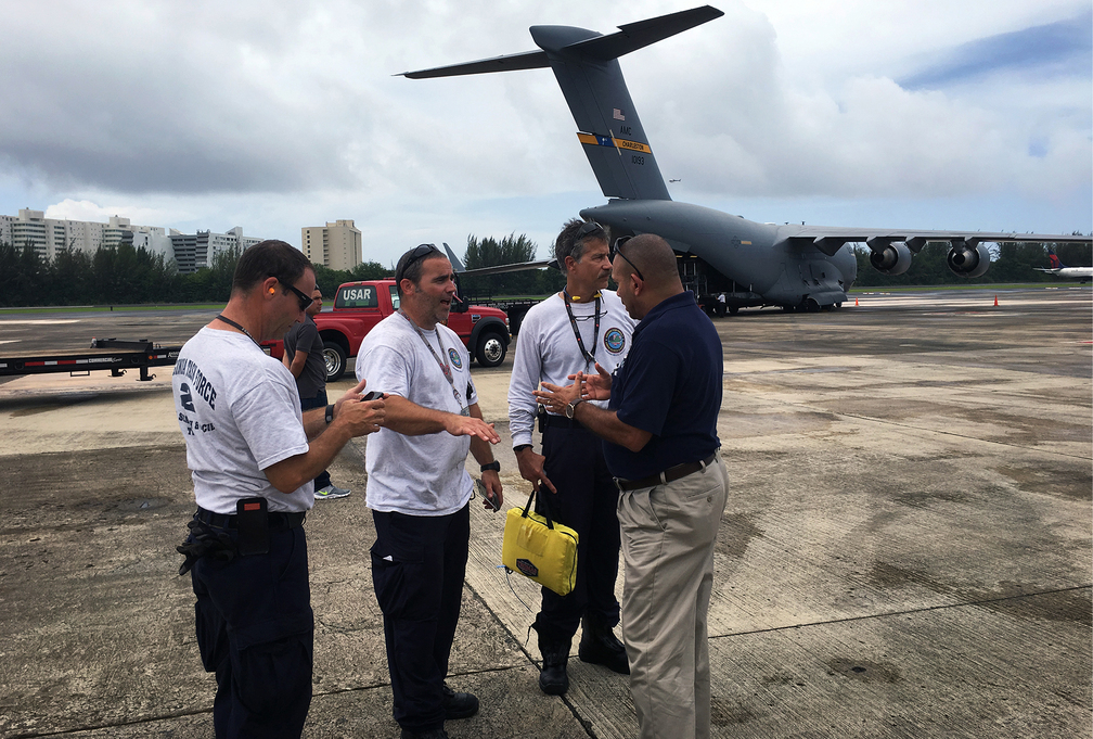 FEMA US&R Arrives in Puerto Rico in Advance of Hurricane Irma