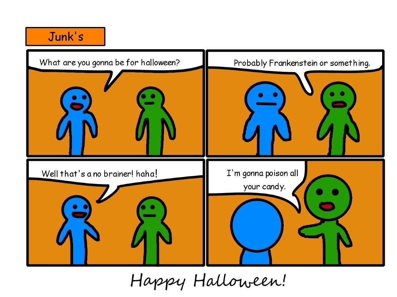 halloween comic